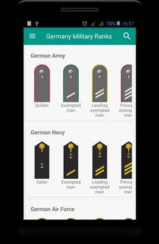 Germany military ranks screenshot 4