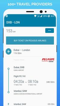 Cheap Flights captura de pantalla 2