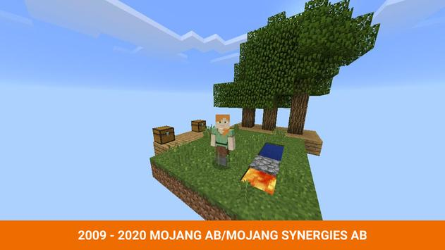 One block survival Minecraft maps. Map for MCPE screenshot 7