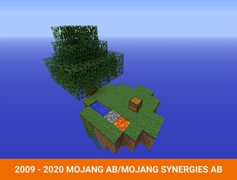 One block survival Minecraft maps. Map for MCPE screenshot 2