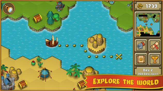 Heroes : A Grail Quest Ekran Görüntüsü 11