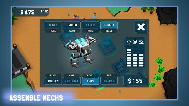 MechCom - 3D RTS ảnh chụp màn hình 2