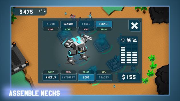 MechCom - 3D RTS スクリーンショット 7