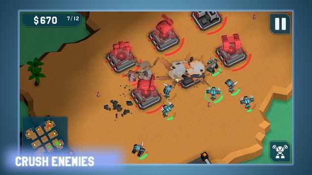 MechCom - 3D RTS スクリーンショット 4