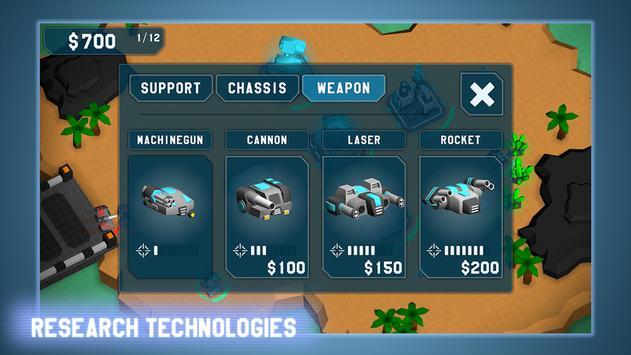 MechCom - 3D RTS スクリーンショット 6