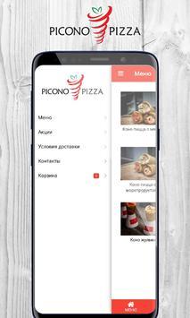 PiCono pizza poster