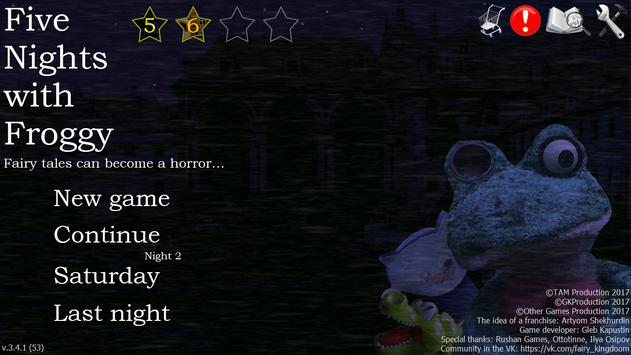 Five Nights with Froggy poster