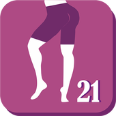 Buttocks and Legs In 21 Days - Butt & Legs Workout أيقونة