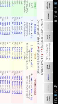 English Tenses Big Table screenshot 2