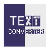 Text Converter icon