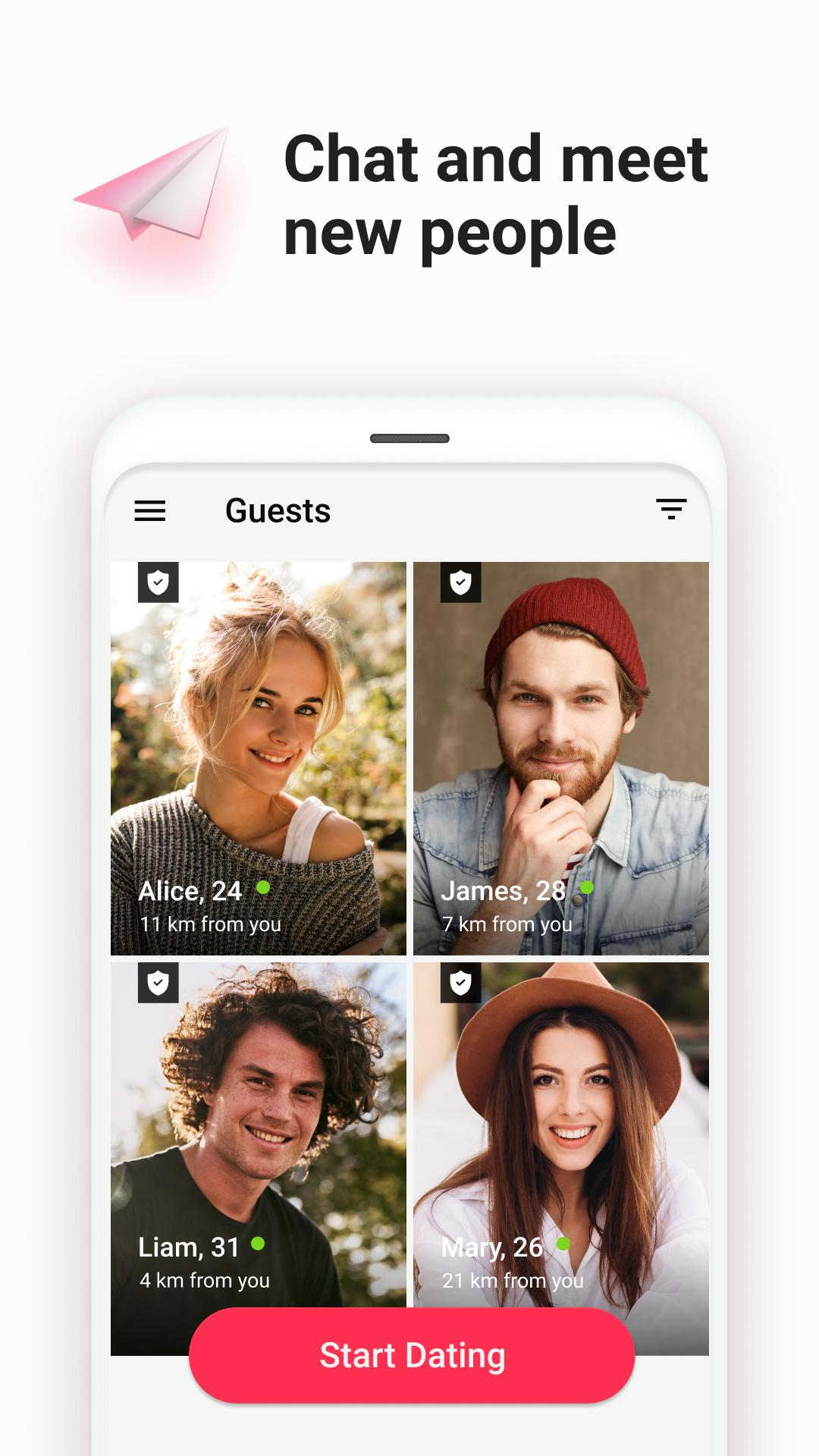 Dating chat bilder