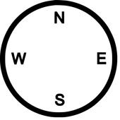 Компас с уровнем мобразр icon
