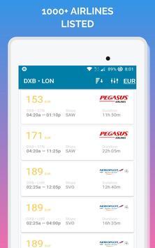 رحلات طيران رخيصه تصوير الشاشة 12