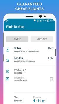 رحلات طيران رخيصه تصوير الشاشة 1