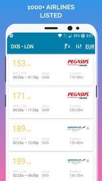 رحلات طيران رخيصه تصوير الشاشة 2