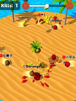 Sliced.io 🍉⚔️🥑 Juicy Fruit Arena screenshot 8