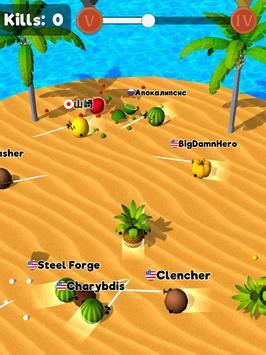 Sliced.io 🍉⚔️🥑 Juicy Fruit Arena screenshot 14