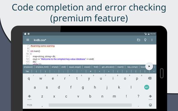 Cxxdroid screenshot 11