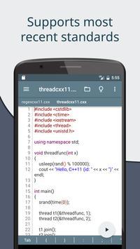 Cxxdroid screenshot 1