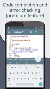 Cxxdroid screenshot 4