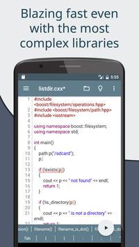 Cxxdroid screenshot 5
