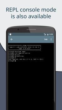 Cxxdroid screenshot 6
