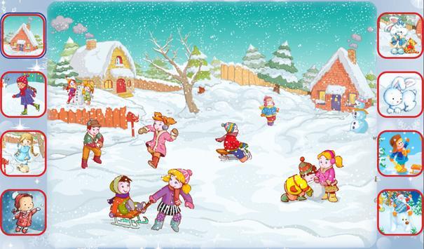 Учим стихи про зиму. ảnh chụp màn hình 1