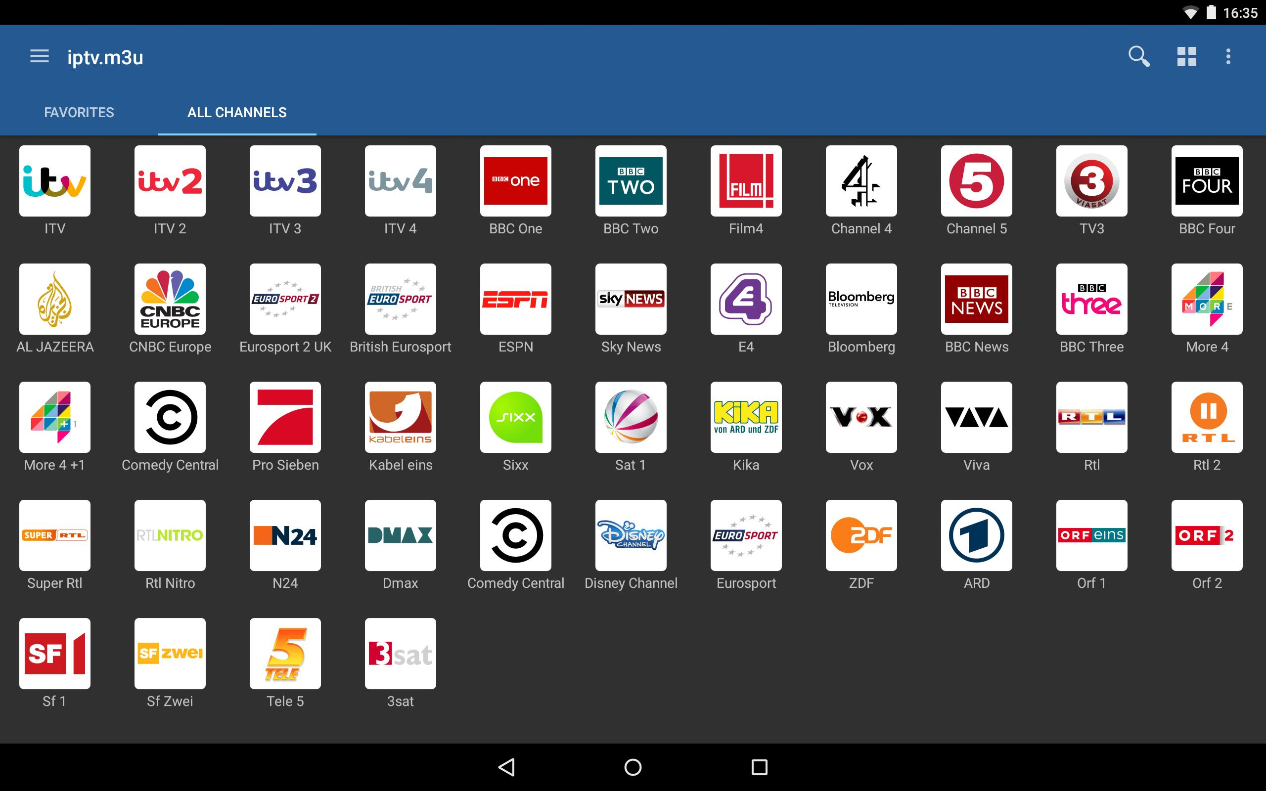 IPTV for Android - APK Download