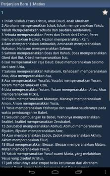 Indonesian Holy Bible screenshot 9