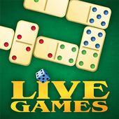 ikon Dominoes LiveGames - free online game