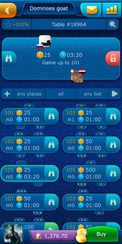 Dominoes LiveGames - free online game screenshot 2