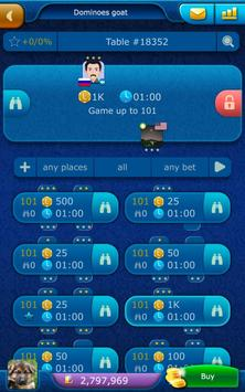 Dominoes LiveGames - free online game screenshot 10