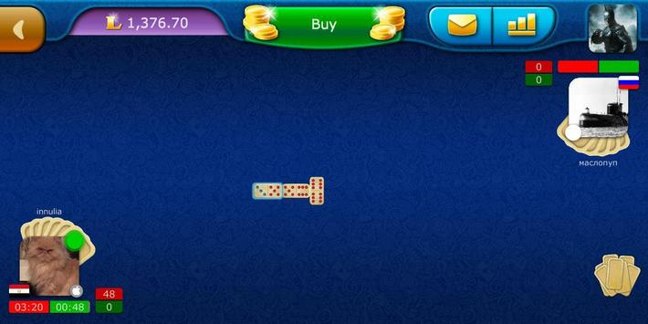 Dominoes LiveGames - free online game screenshot 7