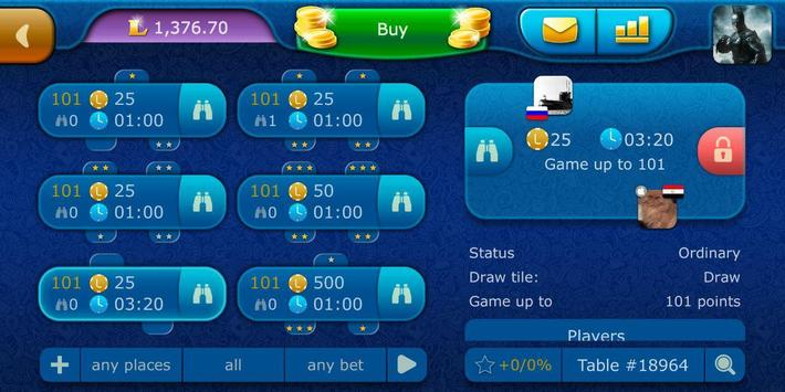 Dominoes LiveGames - free online game screenshot 6