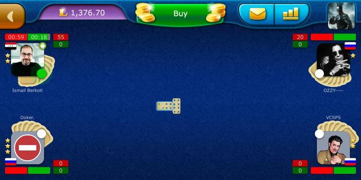 Dominoes LiveGames - free online game screenshot 5