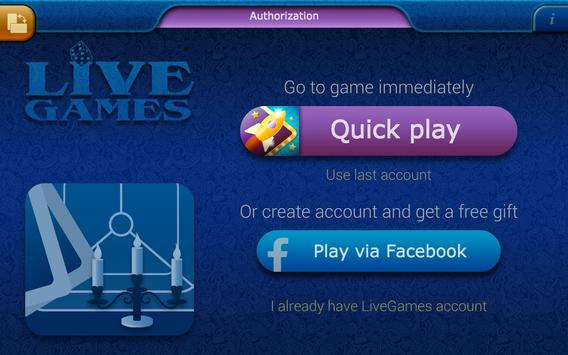 Preference LiveGames - free online card game screenshot 13