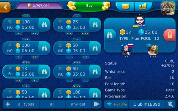 Preference LiveGames - free online card game screenshot 23