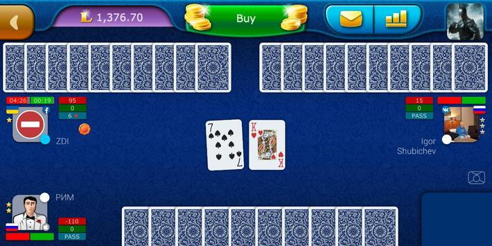 Preference LiveGames - free online card game screenshot 6
