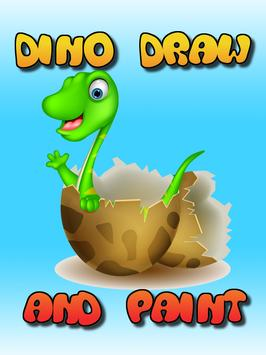 Dino Draw and Paint poster