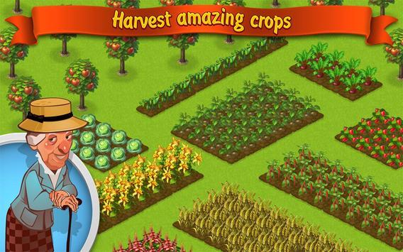 Trò chơi trồng trọt: Lucky Fields ảnh chụp màn hình 11