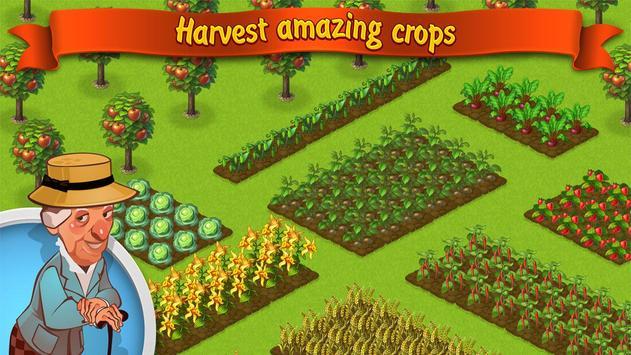 Trò chơi trồng trọt: Lucky Fields ảnh chụp màn hình 3