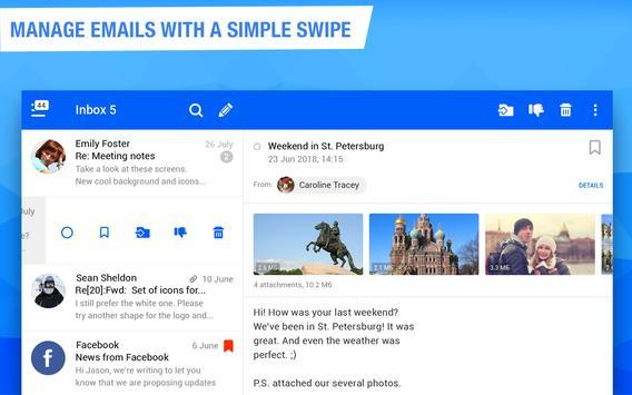Mail.ru - Email App screenshot 5