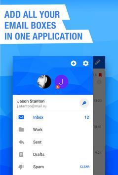 Mail.ru - Email App screenshot 1