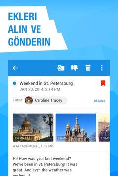 Bedava E-posta Mail.ru'den Ekran Görüntüsü 3