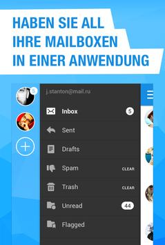 Mail.ru – E-Mail-App Screenshot 1