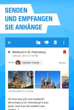 Mail.ru – E-Mail-App Screenshot 3
