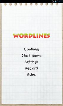 Wordlines poster