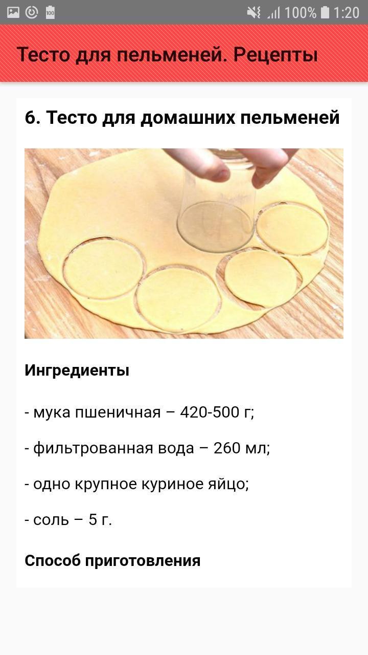 украинский пельменное тесто простой рецепт с фото пошагово поделкам детей