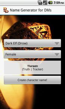 D&D Names Generator screenshot 3