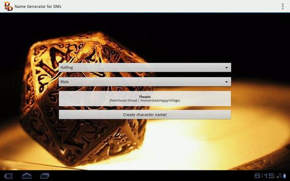 D&D Names Generator screenshot 11